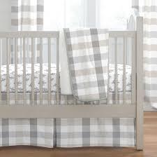 Camo Crib Bedding Gray And Taupe Buffalo Check Crib Bedding Carousel Designs