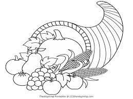 thanksgiving coloring pages free printable free printable cornucopia coloring pages coloring home