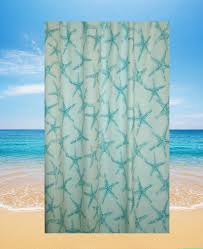 Seashell Shower Curtains Seashell Nautical Fabric Shower Curtain Curtain Gallery Images