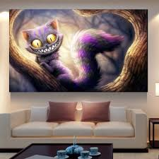 cool home products 5d diy diamond painting rhinestones cross stitch cool cat home