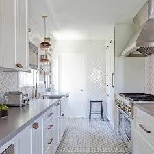 Herringbone Tile Floor Kitchen - kitchens grey herringbone floor design ideas