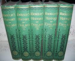 the history of england 5 volume set by macaulay thomas babington