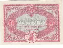 chambre de commerce dijon 50 centimes 01 déc 1919 chambre de commerce de dijon 1919 neuf gem