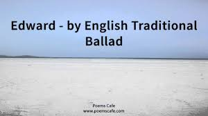 edward by traditional ballad