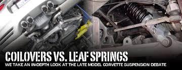 c4 corvette shocks c5 c6 corvette suspension tech coilovers vs leafs corvette