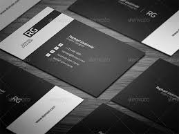 20 professional u0026 simple business cards templates for 2018
