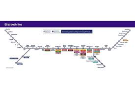Metro Violet Line Map by Crossrail Route Map How The Elizabeth Line Will Connect London To