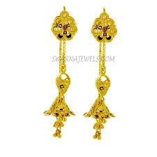 sui dhaga earrings gold sui dhaga earring wger50