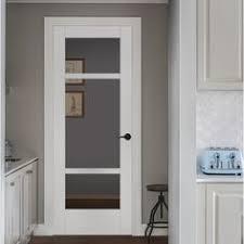 jeld wen white solid core 3 panel craftsman slab interior door