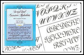 tattoo lettering books script u0026 cursive alphabets bicknee