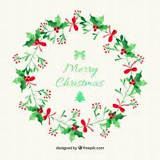 christmas mistletoe christmas mistletoe wreath vector free