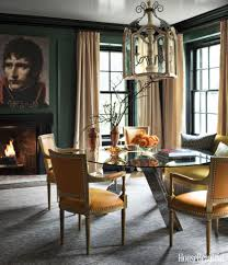 beautiful dining rooms elegant interior and furniture layouts pictures green paint