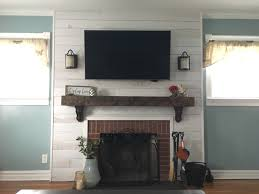 is livingroom one word farmhouse chic living room update