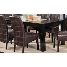 furniture espresso dining room set with cymax bar stools for