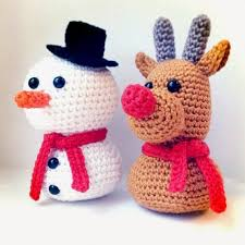 Amigurumi Christmas Ornaments - 25 unique crochet christmas ideas on pinterest crochet