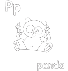 panda free alphabet coloring pages alphabet coloring pages of