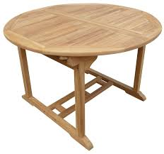 extendable teak dining table highland dunes cosper round extendable teak dining table reviews