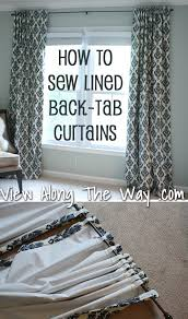Lined Curtains Diy Inspiration 491 Best Drapes Curtains Panels And More Images On Pinterest