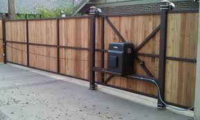 attractive wood driveway gate plans 5 exterior inspiration