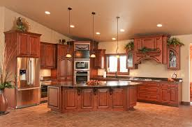 Rustic Alder Kitchen Cabinets Custom Made Kitchen Cabinets Custom Made Knotty Alder Stepped
