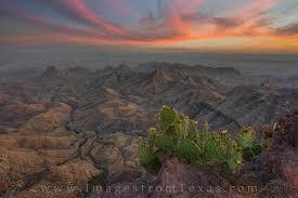 Texas national parks images Big bend south rim at sunset 2 big bend national park images jpg