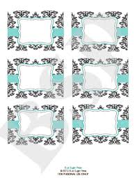 14 best photos of candy buffet labels printable free printable