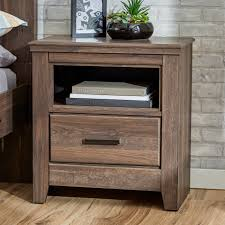 bedroom endearing mirrored hayworth nightstand with cool dark