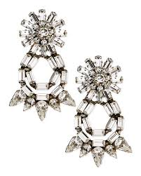 dannijo earrings dannijo grace statement earrings