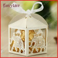 wedding gift decoration hot sale laser cutting indian style wedding gift boxes customized