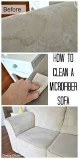 How To Clean Suede Sofas Amazing How To Clean Microfiber Couches Diy All You Need Is Is