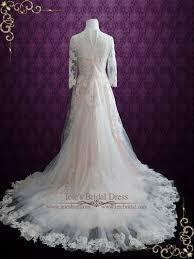 blush wedding dress ieie bridal
