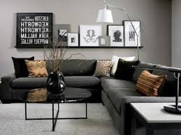 Black Living Room by Awesome Gray And Black Living Room Ideas Gallery Awesome Design