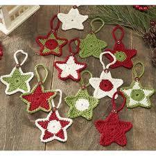 herrschners country chic ornaments crochet yarn