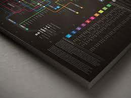 Singapore Business Cards Neon Subway Map Information Design U2013 Lemon Graphic Singapore