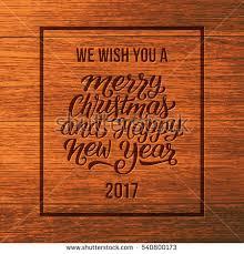 we wish you merry happy stock vector 540800173