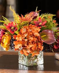 vibrant spider mum u0026 blackberry silk arrangement at petals