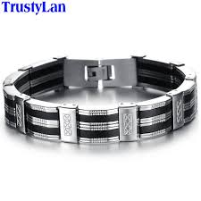 stainless steel mens bracelet images Trustylan accessory men bracelet brazalet high quality stainless jpg