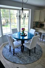 round rug for under kitchen table kitchen table rugs francecity info