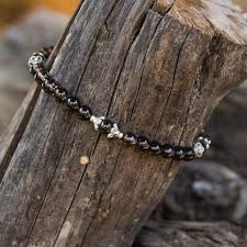 blessed bracelet smokey quartz bracelet blessed by sri mooji mooji satsang shop