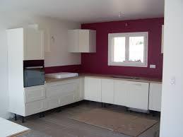 cuisine blanche sol noir délicieux peinture sur faience murale 1 indogate salle de bain