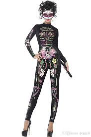 day of the dead costumes 2018 skeleton day of the dead costume women s sugar skull dia