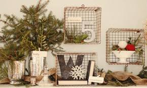 country christmas style rustic christmas decorations homemade