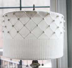 thrift store diy home decor diy sweater lampshade tutorial old thrift store sweater scissors