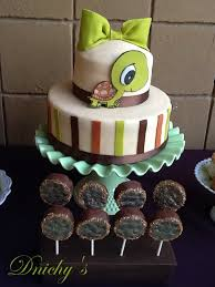 turtle baby shower dnichys cakes and cookies tortuga turtle baby shower