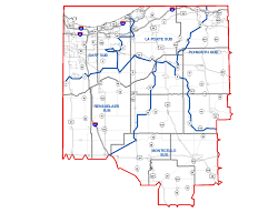 Indiana Road Conditions Map Indot Welcome To The Laporte District