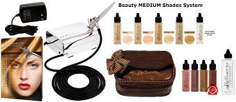 best professional airbrush makeup system med 4 clr airbrush makeup set compressor hose found bag