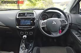 mitsubishi asx 2017 interior 2015 mitsubishi asx ls 2wd review video performancedrive