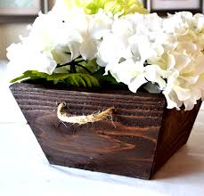 ana white 1 small cedar tapered planter or crate diy projects