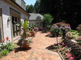 brick for patio brick paver patios hgtv
