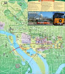 Washington Dc City Map by Maps Update 700495 Washington Dc Tourist Map Printable